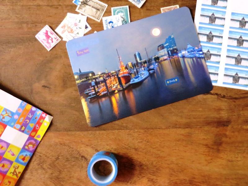 postkarte bearbeiten