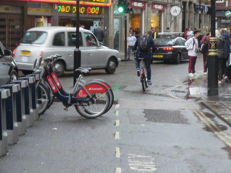 Anleitung Stadtrad London Santander Cycle