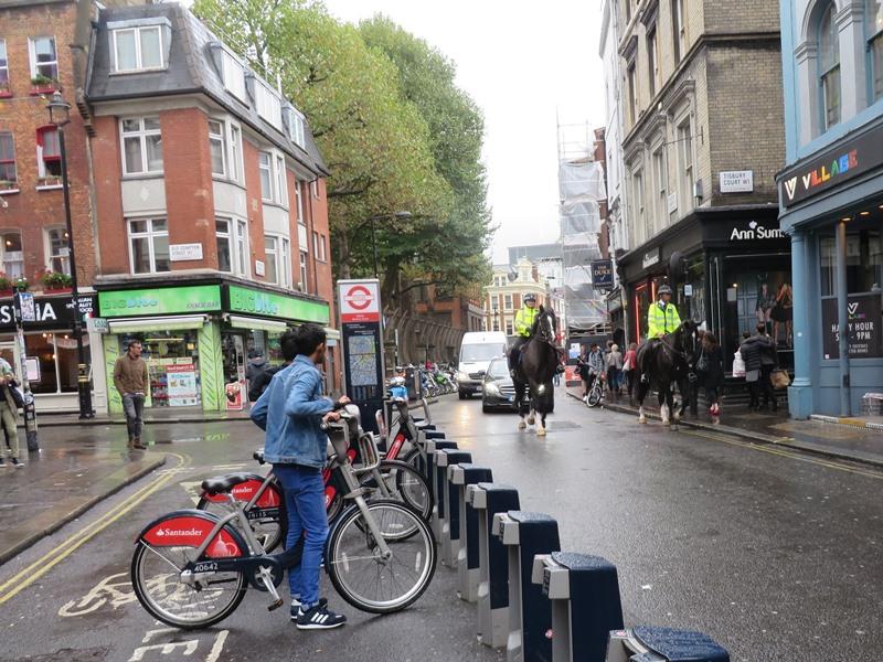berittene Polizei London