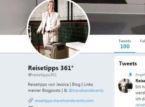 Reisetipps von Jessica bei Twitter