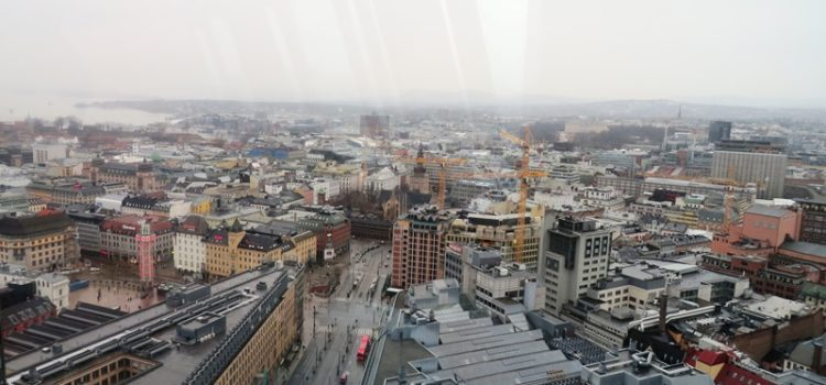 Rundumblick: Aussicht über Oslo