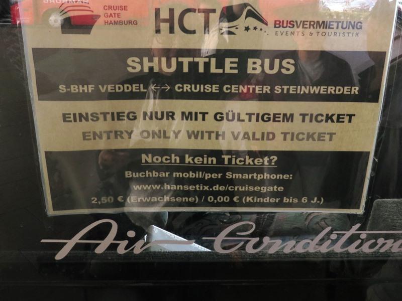 htc shuttle bus steinwerder veddel