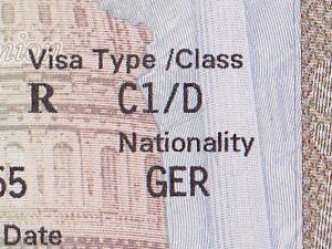 Beantragung Visum USA (C1/D )
