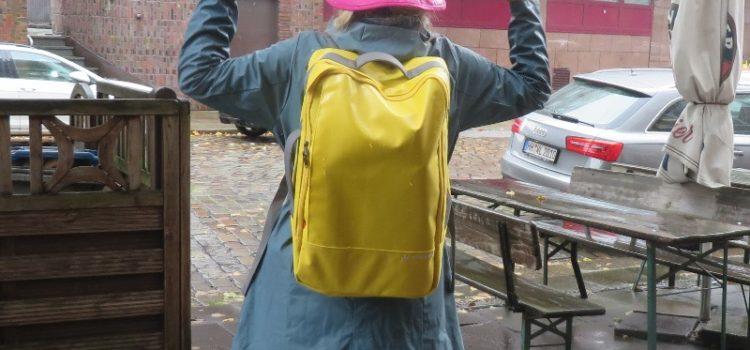 Rucksack Reisetasche für Regenwetter