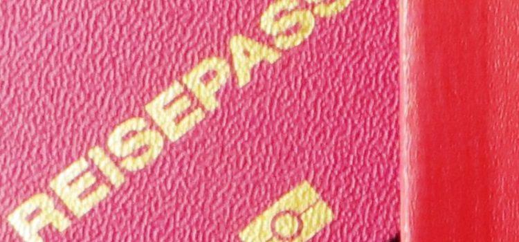 Biometrischer Pass statt Personalausweis