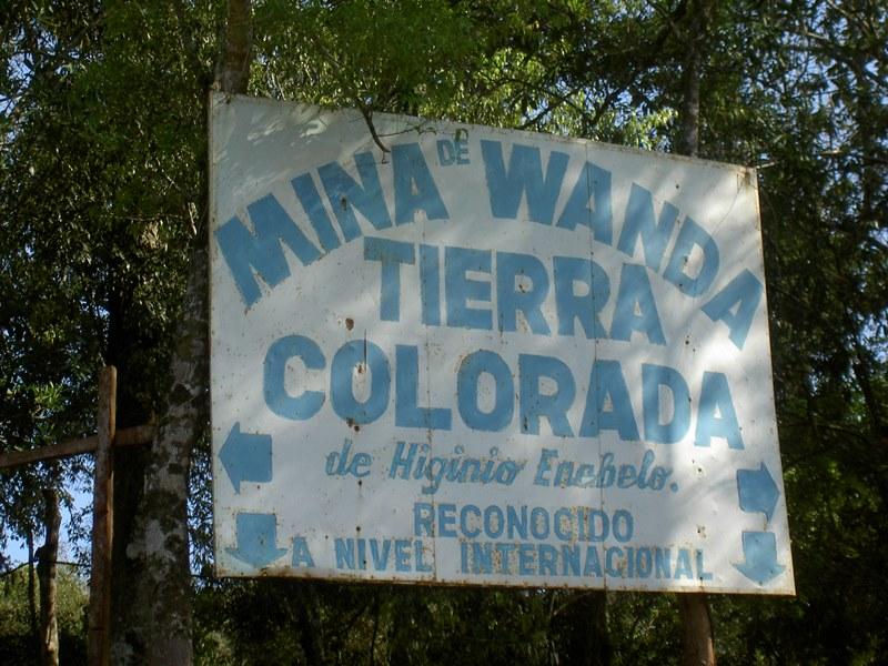 Minas Minen Wanda bei Iguazu Argentinien