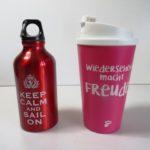 eigene trinkflasche kaffeebecher kreuzfahrt reise packliste