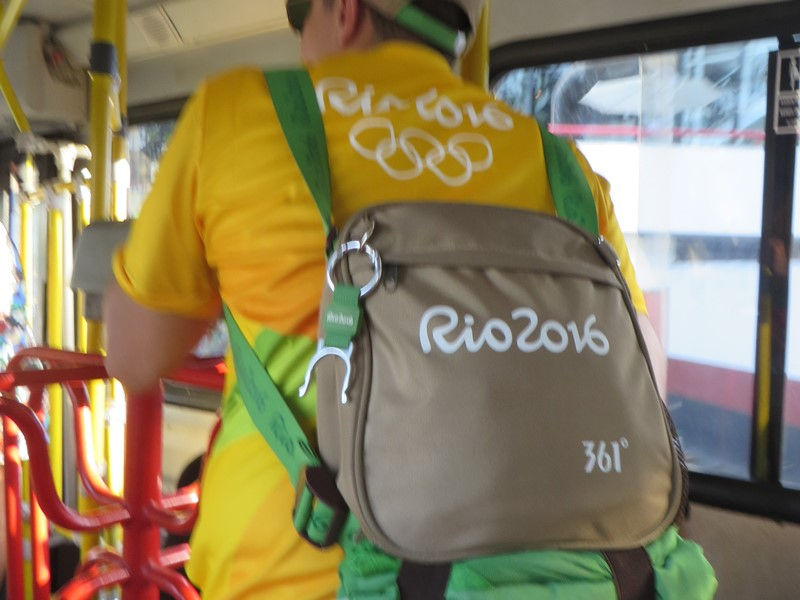 361° backpack shirt uniform olympics rio