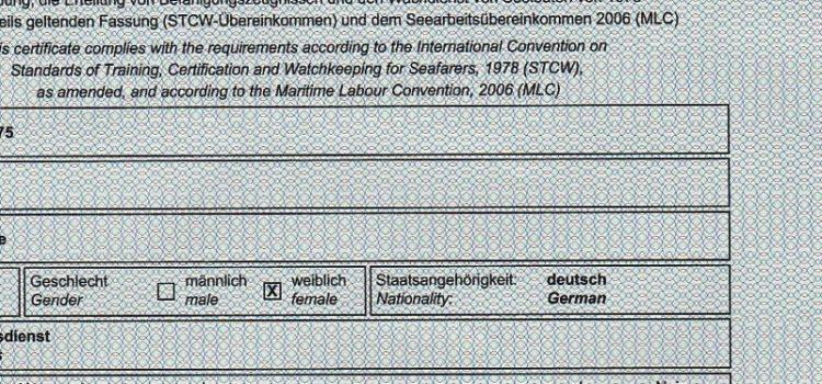 Seediensttauglichkeit Hamburg (Schiffs-Crew)